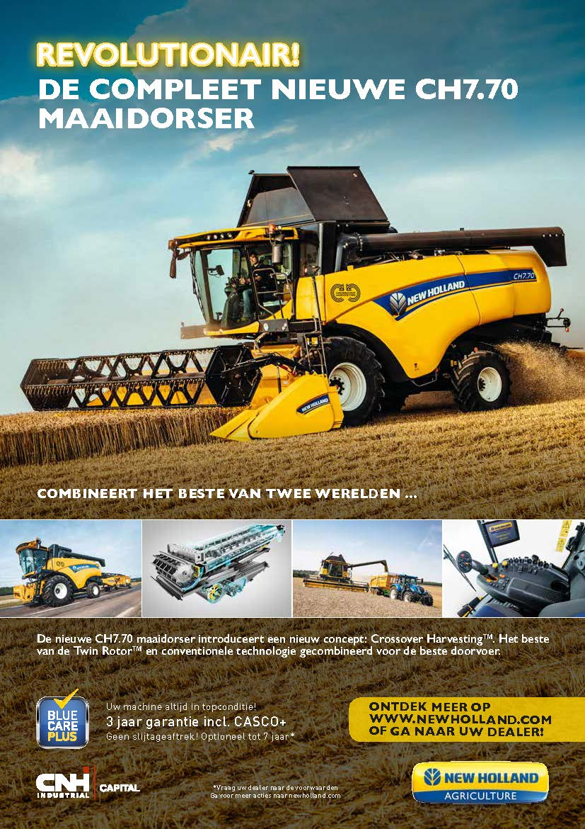 New Holland CH maaidorser